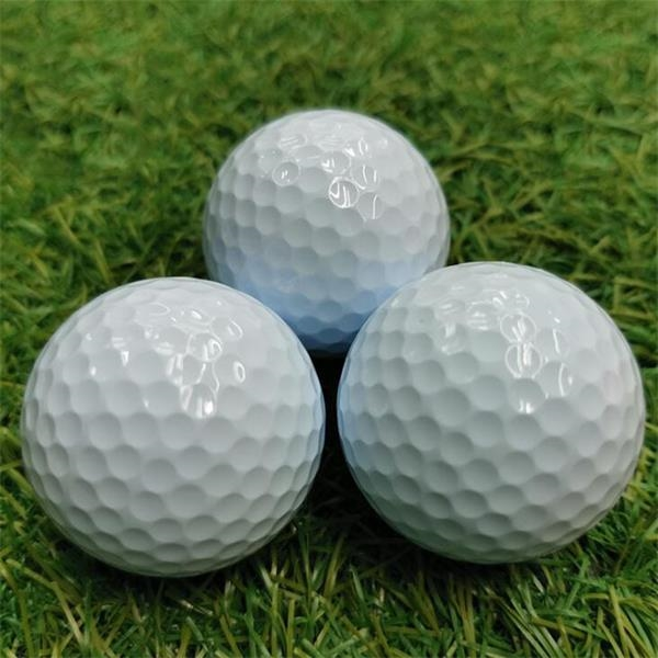 Double layer Rubber Surlyn Training Golf Balls