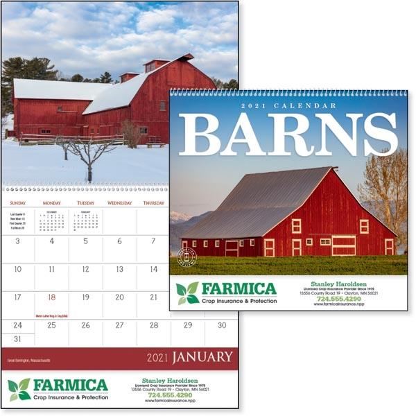 Barns 2021 Calendar