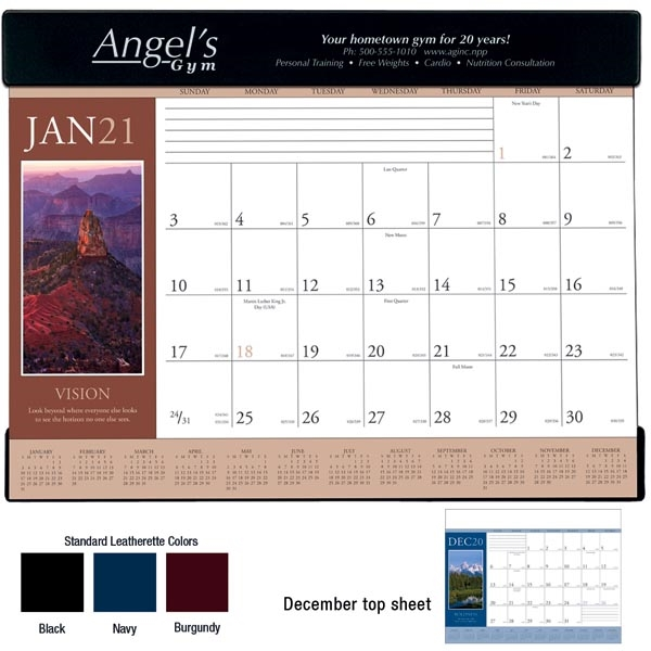 Motivations 2021 Desk Calendar Pad