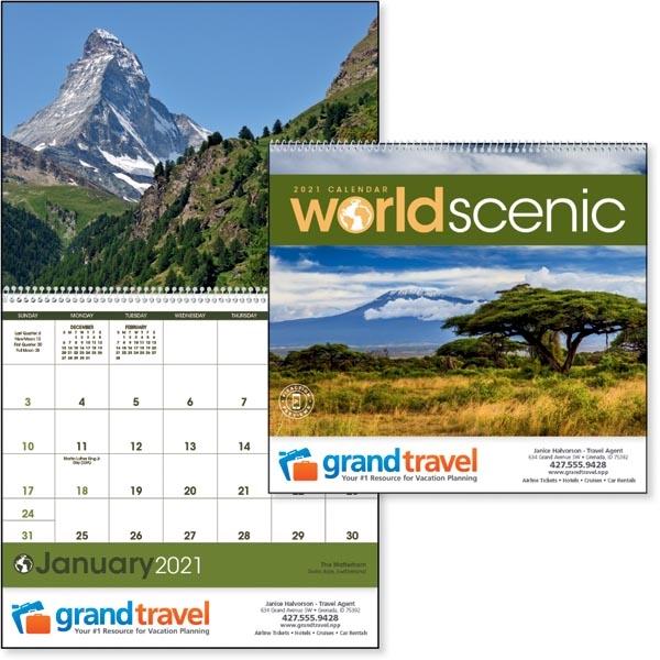 World Scenic 2021 Calendar