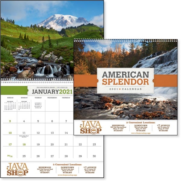 American Splendor 2021 Calendar