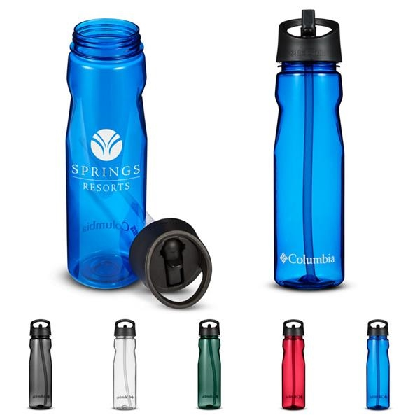 Columbia® 25 oz. Tritan™ Water Bottle with Straw Top