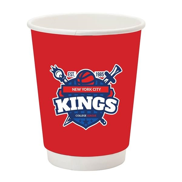 12 oz Insulated Paper Hot Cup - Flexographic Printing