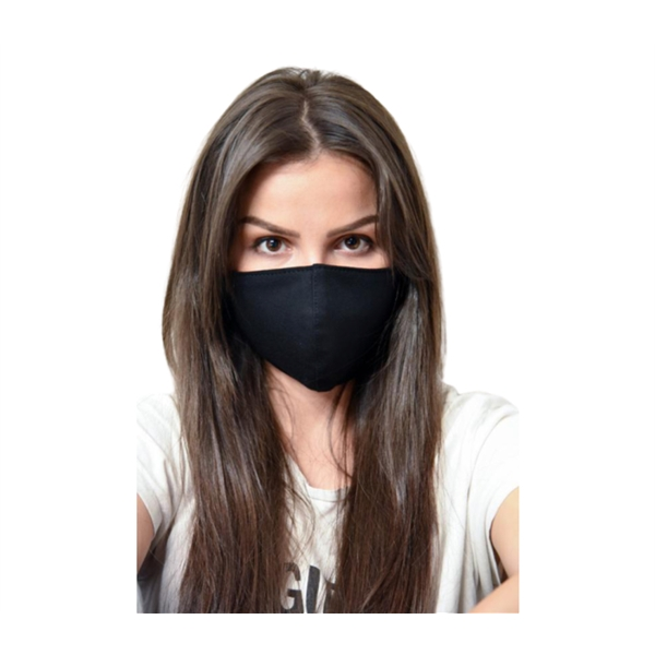 2-ply Polyester Face Mask - Plain