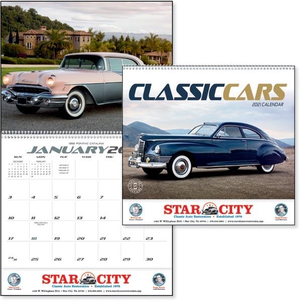 Classic Cars 2022 Calendar