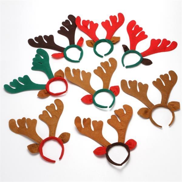 Non-Woven Christmas Antler Hair Ornament