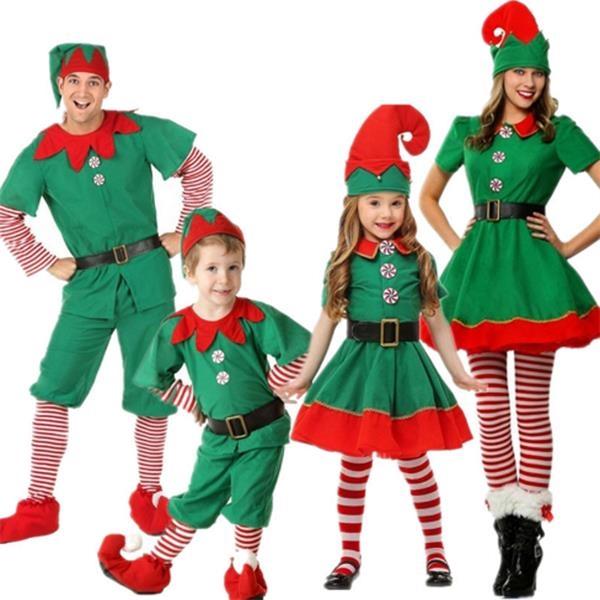 Elf Christmas Prom Dress