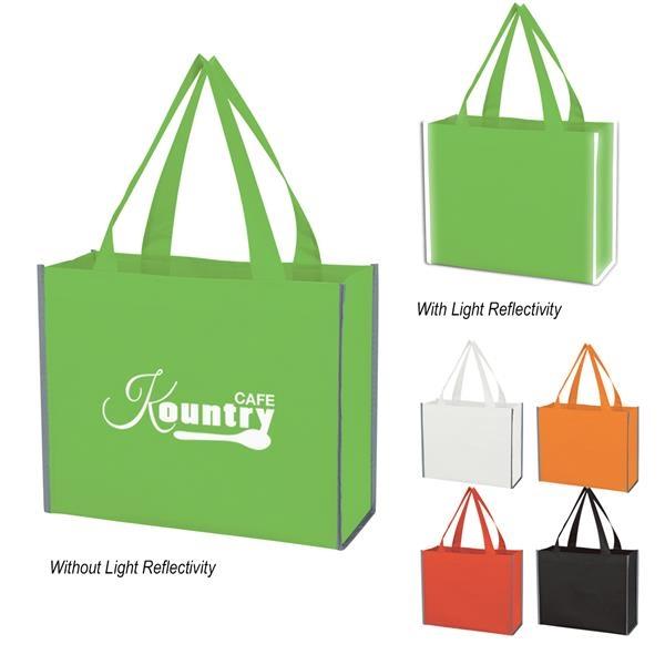 Laminated Reflective Non-Woven Shopper Bag
