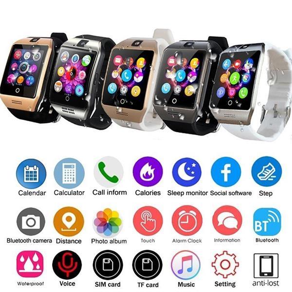 Q18 Smart Wrist Watch