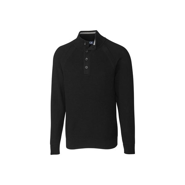 Reuben Button Mock Sweater