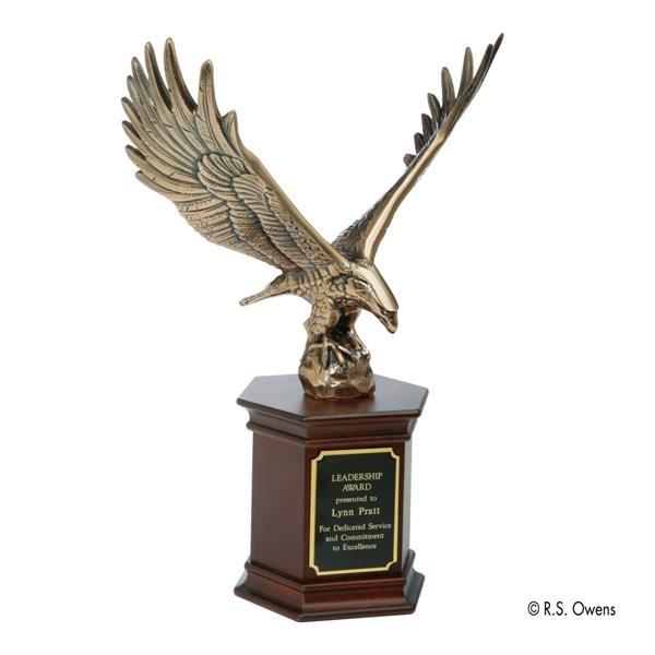 Majestic Eagle Award on Mahogany