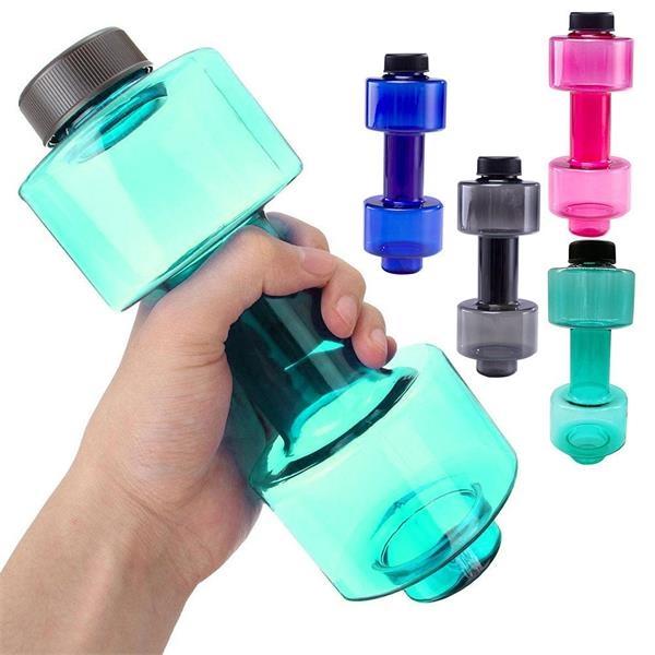 Dumbells Sports Water Bottles