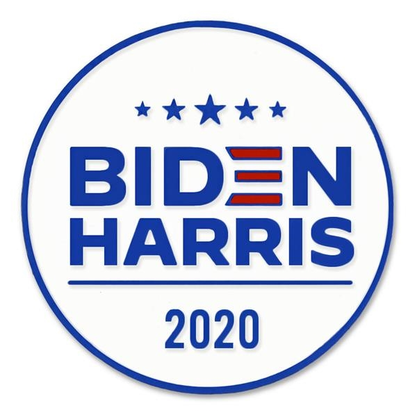 Biden and Harris Lapel Pin