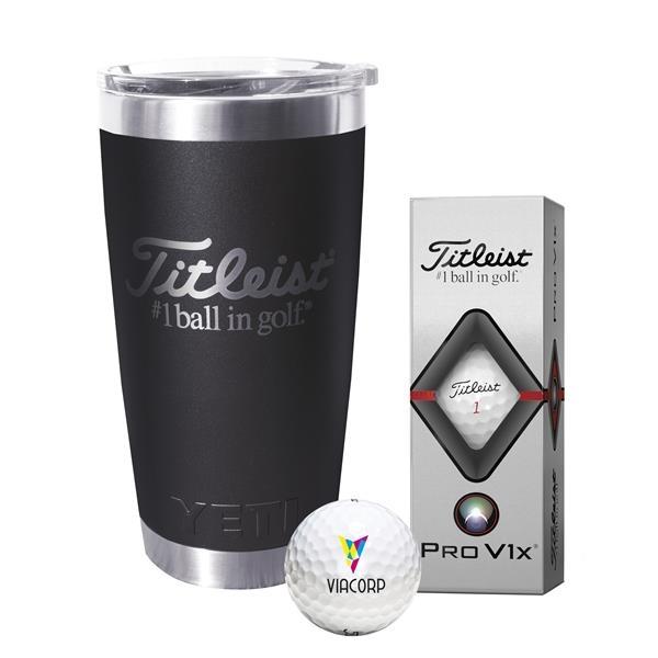 Titleist® Yeti Tumbler - Pro V1x®