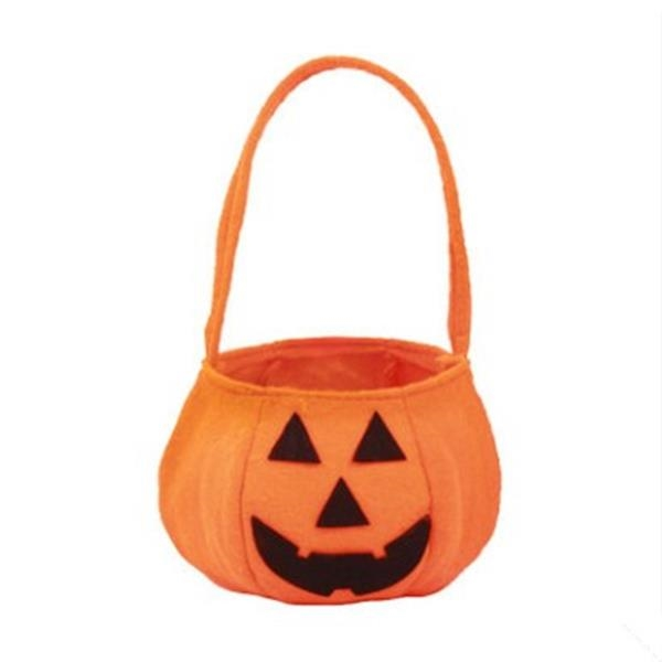 Halloween pumpkin candy bag