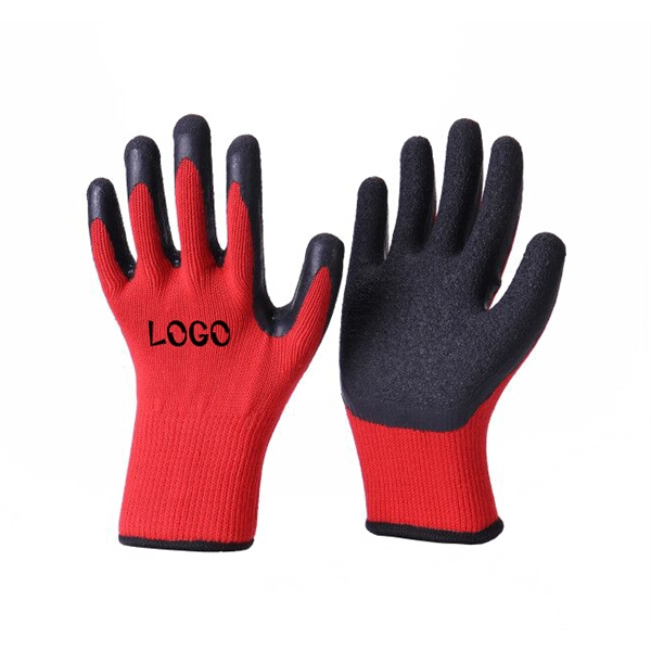 Latex Work Gloves