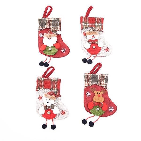 Christmas Ornaments Hanging Stocking Bag