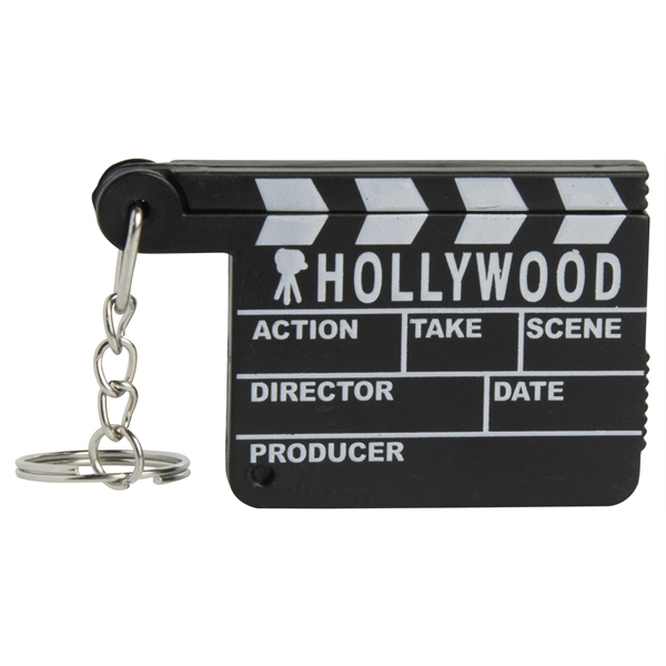 Hollywood Keyring with Magnifier