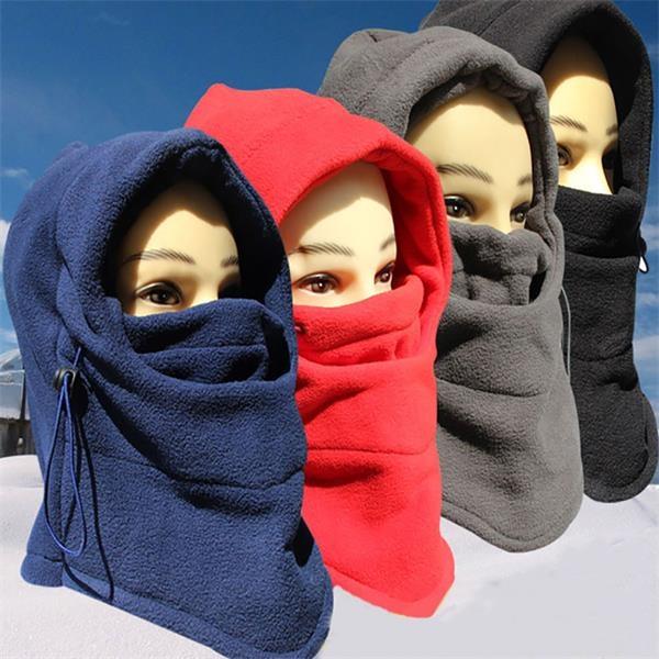 Fleece Winter Ski caps with cotton masks