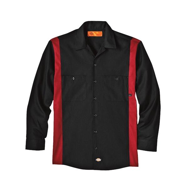 Dickies Industrial Colorblocked Long Sleeve Shirt