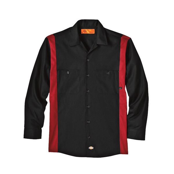 Dickies Industrial Colorblocked Long Sleeve Shirt - Long ...