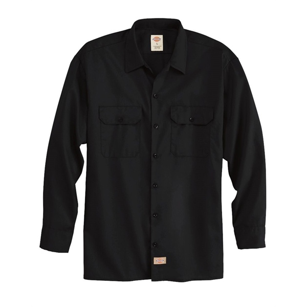 Dickies Long Sleeve Work Shirt - Long Sizes