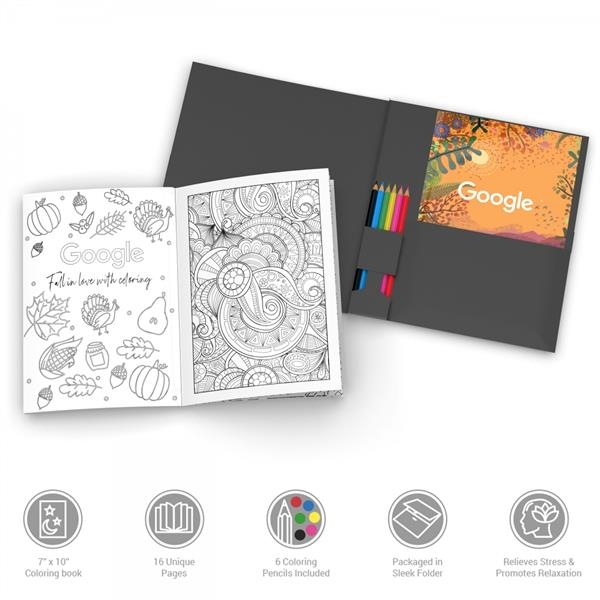 KolorKit Adult Coloring Book Kit