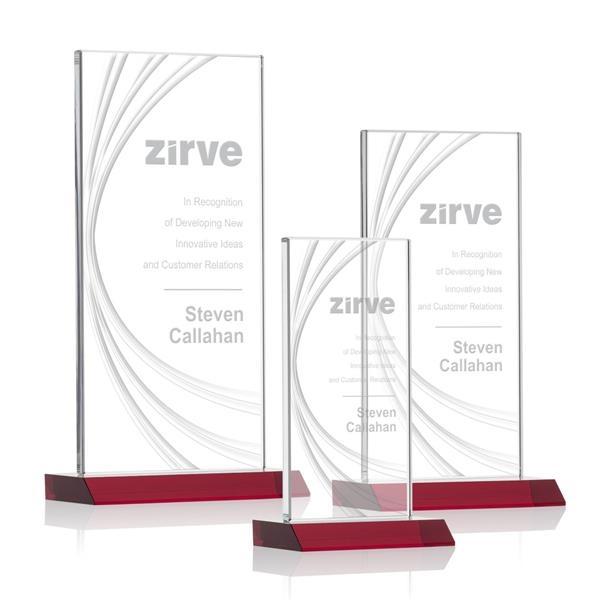 Hawkins Liquid Crystal™ Award - Red