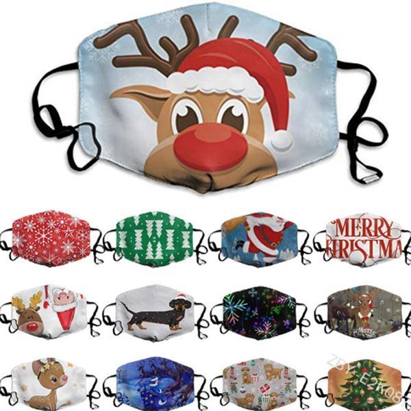 Christmas Mask With Custom Logo