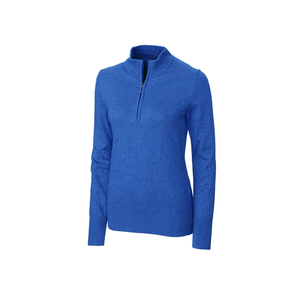 Michele L/S Half Zip Mock Sweater