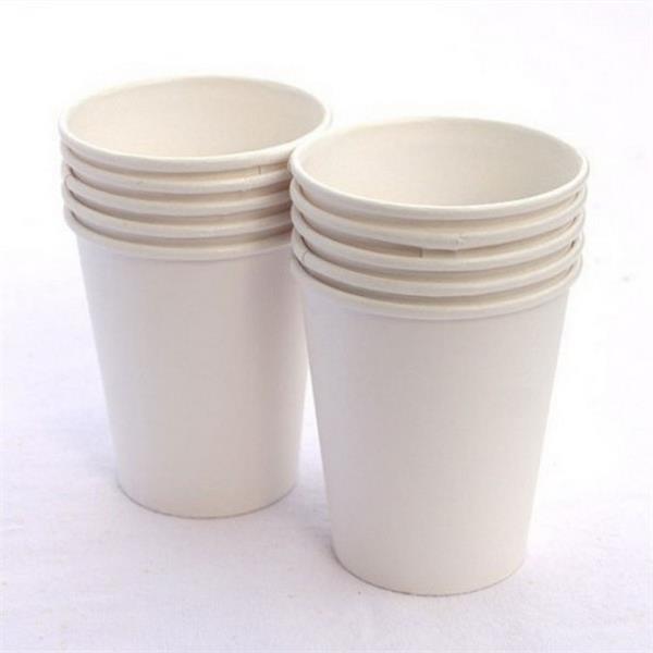 Custom Imprint 8oz Eco-Friendly Single Wall Paper Cup