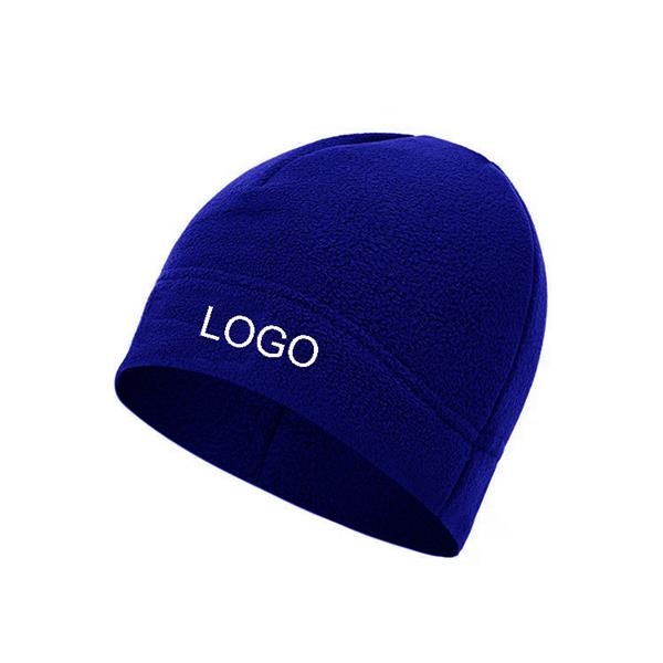 Double Layer Fleece Beanie Hat