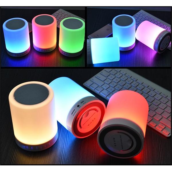 Automatic Sensor LED MINI Portable Wireless Speaker