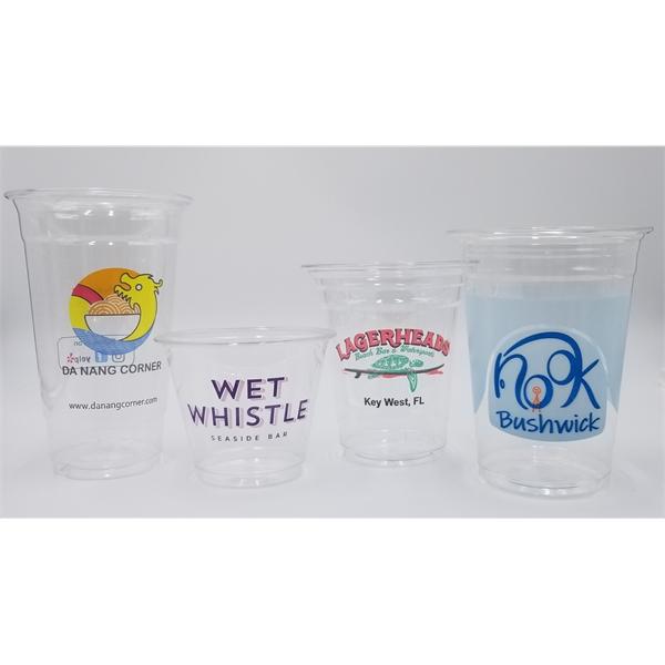 Custom PET Plastic Cup 3oz. To 32oz.