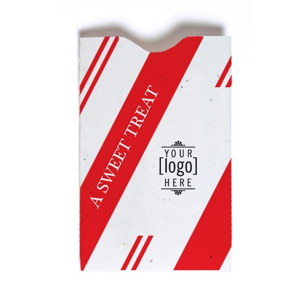 Holiday Seed Paper Gift Card Sleeve