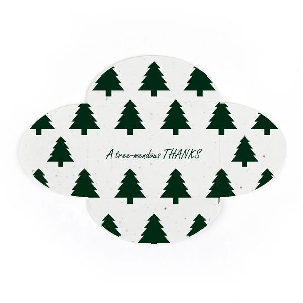 Holiday Rose-Fold Gift Card Holder