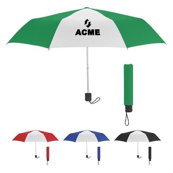 "42"" Arc Telescopic Umbrella with 100% RPET Canopy"