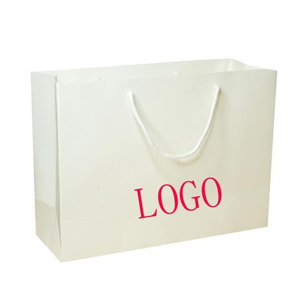 White Card Tote Bag