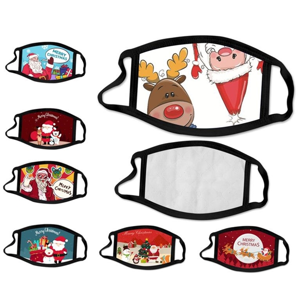 2-ply Christmas Anti Dust Mouth Cover Face Mask