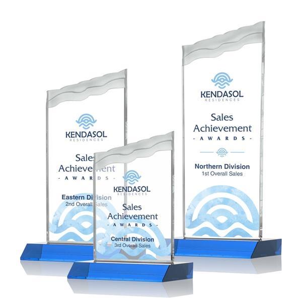Oakwood VividPrint™ Award - Sky Blue