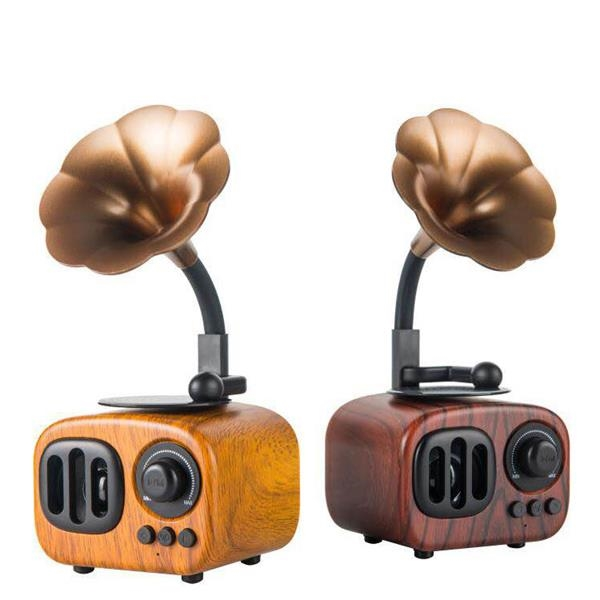Retro Trumpet Style Bluetooth Speaker