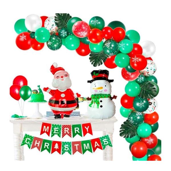 Christmas Balloons Garland Arch Kit