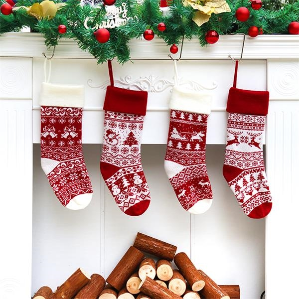 Christmas Stockings Set of Ornament Decorations