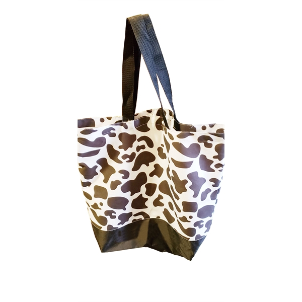Cow Pattern Canvas Bag