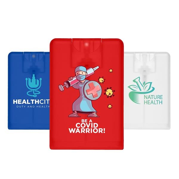Card Shaped Hand Sanitizer Spray 20 ml w