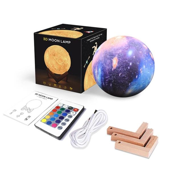 3D Colorful Starry Sky Night Light 16 colors