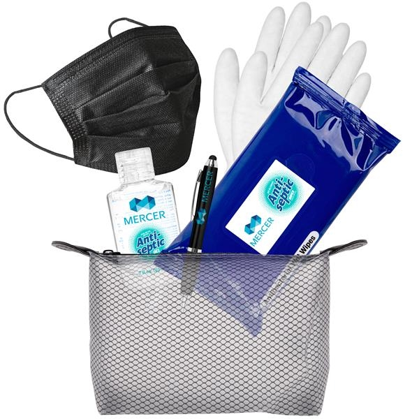 The Basics Black PPE Travel Kit