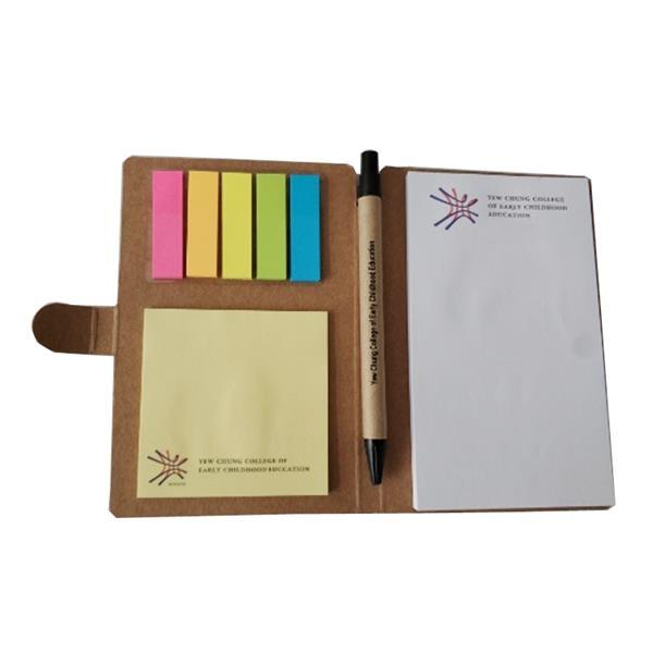 Kraft Notepad with Pen