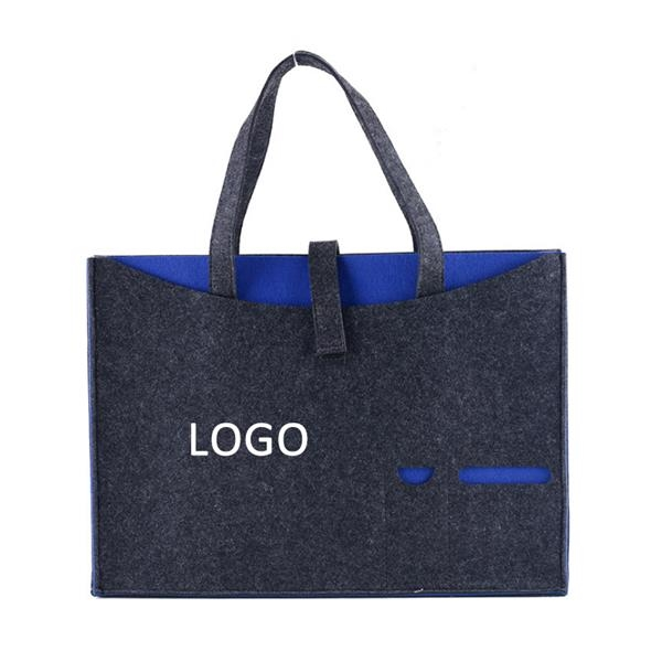 Felt Business Tote