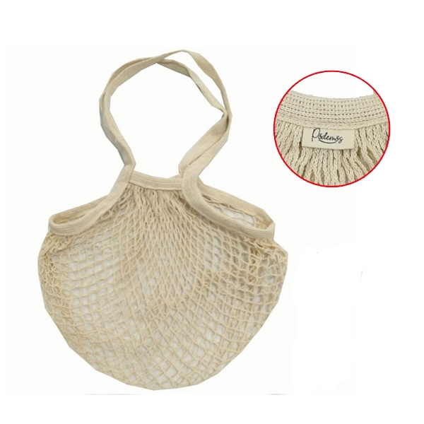 Cotton Mesh Shopping Bag